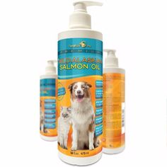 Premium Wild Alaskan Salmon Oil for Dogs and Cats  All-Natural Omega-3 Food Supplement  over 15 Omega's  EPA - DHA Fatty Acids  Natural Astaxanthin - Vitamin D  Satisfaction Guaranteed!http://amzn.to/1RBeVsa #terramaxpro #vovcyan
