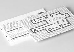 Invitation for 13th International Architecture Exhibition. La Biennale di Venezia