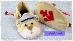 Carmela Caramella : molde sapatinho