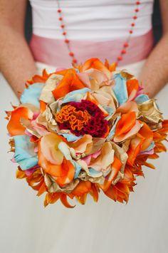 wedding bouquet, wedding colors #indianwedding, #shaadibazaar
