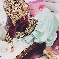Sleeves Designs For Dresses, Sleeve Designs, Oriental Wedding, Traditional Dresses, Bomber Jacket, Jackets, Women, Style, Fashion