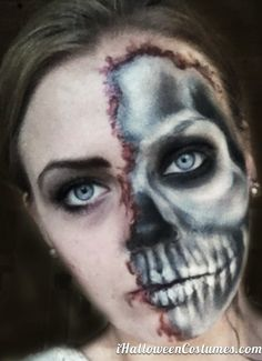 skull makeup for Halloween » Halloween Costumes 2013