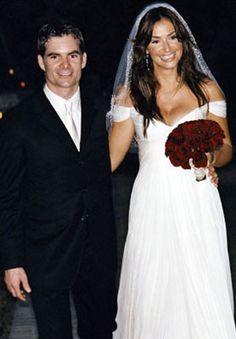 jeff gordon wedding   Jeff Gordon and Ingrid Vandebosch at Their Wedding