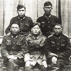Chinese soldiers in Wehrmacht.