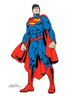 New 52 Superman by Jose Luis Garcia-Lopez, inks by Brett Breeding *