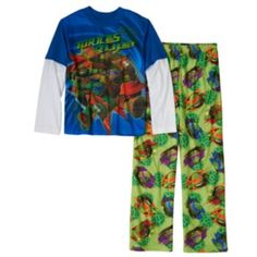 Teenage Mutant Ninja Turtles Dojo Sewer 2-Piece Pajama Set - Boys 4-10