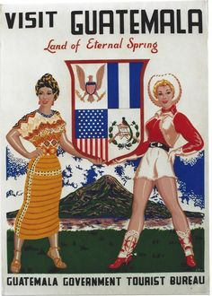 Vintage poster GUATEMALA.  Loved it there!