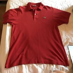 14908f50 Boys Red Polo Shirt, Short Sleeve SZ S 6/7 #George | 2muchJunk | Red polo  shirt, Mens tops, Tee shirts