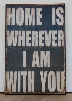 Donde sea, pero contigo <3