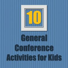 good conference activities for kids