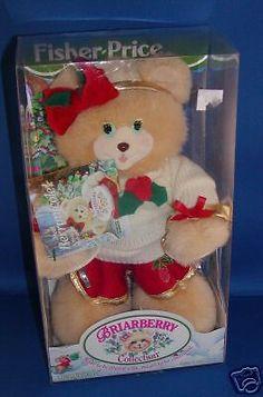 Fisher Price Briarberry Berrynicole Nicole Bear New | eBay