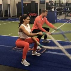 "5,302 Likes, 214 Comments - @bradleysimmonds on Instagram: ""BATTLE ROPES @alexia_clark #bradleysimmonds #queenofworkouts #core #coreworkout #absworkout…"""