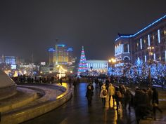 Christmas in Kiev, Ukraine