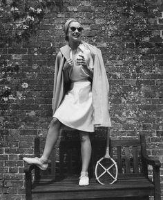 1955: English tennis player Angela Buxton at The Hurlingham Club. Photo-6567786.89237 - Times Union
