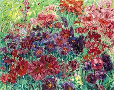 Violets - Emile Nolde - 1907