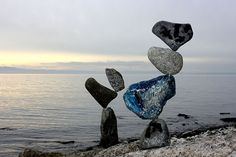 Rockbalance - Jan Balanced rocks in Langenargen, Lake Constance, Jan Love that blue rock! Balanced Rock, Blues Rock, Whale, Rocks, Animals, Art, Art Background, Whales, Animales