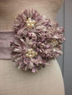 Flower sash