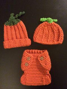 Pumpkin newborn Set