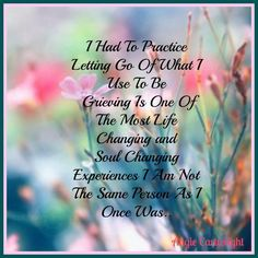 Grieving the person I was before chronic illness took over/ Life with fibromyalgia