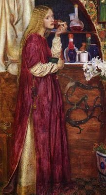 """The Queen was in the Parlour, eating Bread and Honey"" - Valentine Cameron Prinsep (1860)"