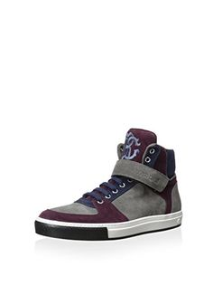 www.myhabit.com  Multi-hued suede sneaker offers a custom fit thanks to a laced vamp and a hook-and-loop strap