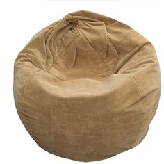 Faux Leather Bin Bag Chair For Sale