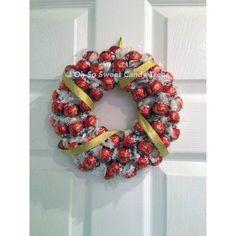 Lindor Chocolate Hanging Wreath