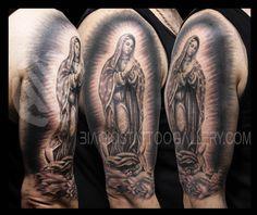 catholic virgin mary half sleeve tattoos - Bing Images