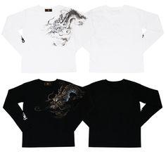 長袖Tシャツ「雲龍」