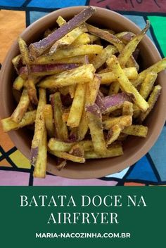 Patata dolce in airfryer - recipes - Chef Recipes, Dairy Free Recipes, Food Network Recipes, Vegan Recipes, Cheap Healthy Lunch, Vegetarian Side Dishes, Prepped Lunches, Vegan Kitchen, Air Fryer Recipes