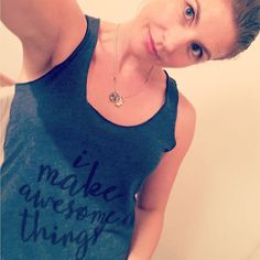 Thank you so much @theyarnmamas I love my #imakeamazingthings shirt!! I have a #yarnmama one too so exciting!  by kidsincrochet