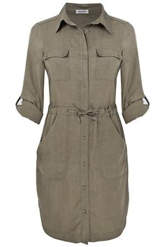 The perfect shirtdress...