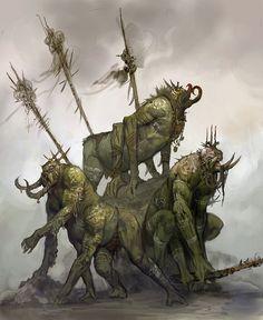 Vance Kovacs - John Carter of Mars art Science Fiction, A Princess Of Mars, Creature Picture, Fallen Empire, Beast Creature, World Of Darkness, Creature Concept, Green Man, Monsters