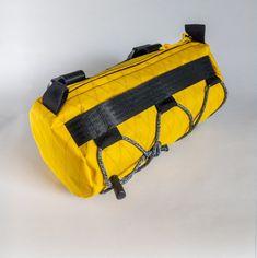VAGABON BAGS Burrito bike handlebar bag Yellow | Etsy Bike Bag, Bike Handlebars, Waterproof Fabric, Yellow, Bags, Etsy, Handbags, Bag, Totes