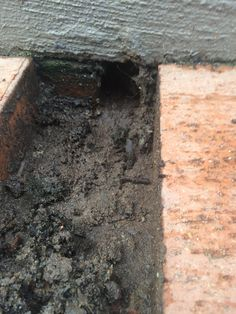 Weep holes in retaining wall are below the paver level causing the pavers to sink