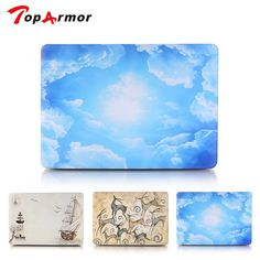 TopArmor Blue Sky Hard Shell Case for Apple Macbook Air Pro 11 12 13 15 Inch Retina Laptop Bag Shell Latest Trend Best Sell //Price: $13.05//     #shopping