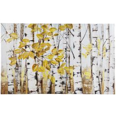 Stand of Birch Trees Art | Pier 1 Imports
