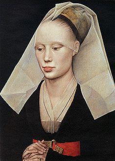 Young woman, about 1460, Rogier van der Weyden, Washington, National Gallery