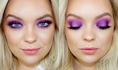 Today I did this bright & colorful purple smokey eye makeup look using the Urban Decay Electric Palette! Please subscribe so you don't miss out on any upcomi...