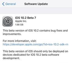 What is Included In Apple iOS 10.2 Update?
