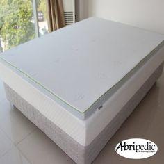 "Abripedic 2.5"" Thick Gel Memory Foam King Mattress Topper 3-Year Warranty by Royal Hotel - List price: $299.99 Price: $149.99"