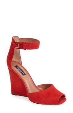 Derek Lam 'Nansen Too' Suede Wedge Sandal (Women) available at #Nordstrom