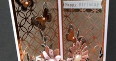 Today, I would like to show you this Balcony Front Card. I've made a couple of different versions of this fold using different papers:- ... Fancy Fold Cards, Folded Cards, Ice Images, Card Templates, Balcony, Happy Birthday, Mary Mary, Couple, Tri Fold