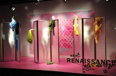Visual Merchandising and Window Design Window Display Design, Store Window Displays, Display Windows, Visual Merchandising Displays, Visual Display, Retail Windows, Store Windows, Denim Display, Showcase Design