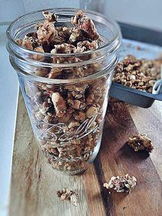 Paleo Müsli ohne Getreide ohne Zucker