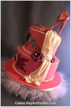 Princess Kathy Cake by Cakes.KeyArtStudio.com, via Flickr
