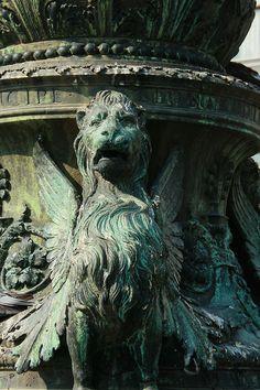 fountain detail, venice