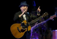 BOSTON, MA - 6/24/2016: Paul Simon performs at Blue Hills Bank Pavilion in Boston on Friday, June 24, 2016. (Timothy Tai for The Boston Globe)