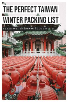 This is the perfect packing list for Taiwan in the winter. It's also the perfect Japan winter packing list. I will help you plan what to pack for Taiwan. Taiwan packing list | taiwan winter packing list | japan packing list | japan winter packing list | tokyo winter packing list | kyoto winter packing list | winter packing list japan | winter packing list tokyo | winter packing list taiwan South Korea Travel, Taiwan Travel, China Travel, Kyoto Winter, Tokyo Winter, Winter Packing, Packing Tips For Travel, Taiwan Night Market, Bryce Canyon