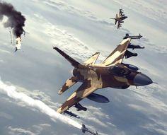 Jedna z najlepszych gier przeglądarkowych. Zostań pilotem najnowszych maszyn wojskowych i niszcz przeciwnika przy użyciu różnych typów pocisków.